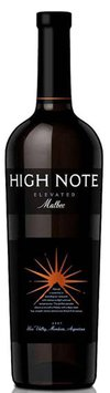 High Note Elevated Malbec 2008