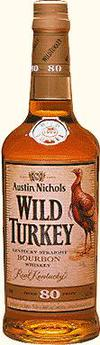 Wild Turkey Kentucky Straight Bourbon Whiskey 80 Proof