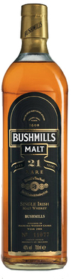 Bushmills Single Malt Irish Whiskey 21 year old