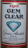 Gem Clear Grain Alcohol