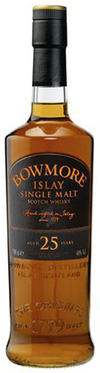 Bowmore Distillery Single Malt Scotch Whisky 25 year old