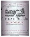 Chateau Bel Air Bordeaux 2010