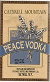 Catskill Distilling Company Catskill Mountain Peace Vodka