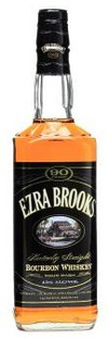 Ezra Brooks Black Label Kentucky Straight Bourbon Whiskey