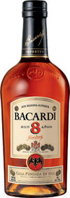 Bacardi 8 Rum 8 year old