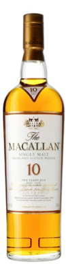 Macallan Single Highland Malt Scotch Whisky 10 year old