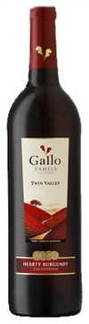 Ernest & Julio Gallo Twin Valley Vineyards Hearty Burgundy