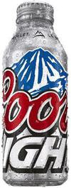 Coors Light Aluminum Bottle