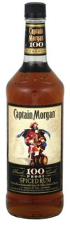 Captain Morgan Black Cask 100 Proof Spiced Rum