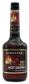 DeKuyper Hot Damn 100 Proof Cinnamon Schnapps