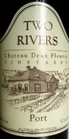 Two Rivers Winery Port