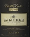 Talisker Distillers Edition Single Malt Scotch Whisky 25 year old