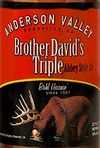 Anderson Valley Brewing Brother David's Triple Abbey Style Ale