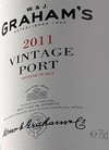 W&J Graham\'s Vintage Port 2011