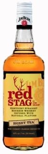 Jim Beam Red Stag Honey Tea Bourbon