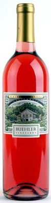Buehler Vineyards Napa Valley White Zinfandel 2012