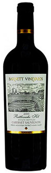 Barnett Vineyards Rattlesnake Hill Estate Cabernet Sauvignon 2011