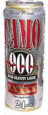 Camo Brewing Company High Gravity 900 Lager