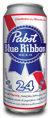Pabst Brewing Company Blue Ribbon Beer Tall Boy