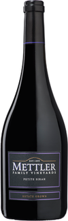 Mettler Family Vineyards Petite Sirah 2012
