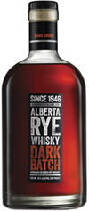 Alberta Distillers Alberta Rye Dark Batch Whisky