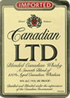 Canadian LTD Canadian Whiskey