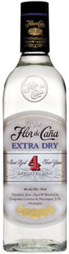 Flor de Caña Extra Dry White 4 year old