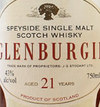 Gordon & MacPhail Glenburgie 21 year old