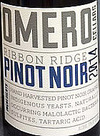 Omero Cellars Ribbon Ridge Pinot Noir 2014