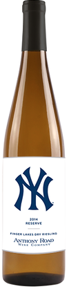 NY Yankees Finger Lakes Reserve Dry Riesling 2014
