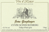 Ginglinger Cuvee Schneckenberg Pinot Gris 2010