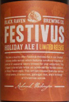 Black Raven Brewing Festivus Holiday Ale