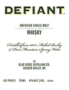 Blue Ridge Defiant American Single Malt