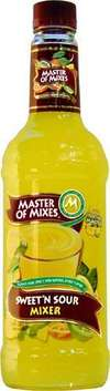 Master of Mixes Sweet 'n Sour Mix