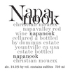 Napanook Red Wine 2014