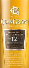 Glen Grant Single Malt Scotch Whisky 12 year old