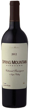 Spring Mountain Vineyard Cabernet Sauvignon 2012