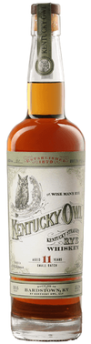 Kentucky Owl Kentucky Straight Rye Whiskey Small Batch 11 year old