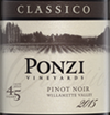 Ponzi Vineyards Pinot Noir 2015