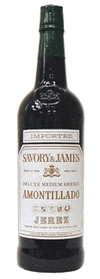 Savory & James Amontillado Sherry