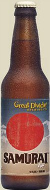 Great Divide Samurai Ale