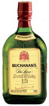 Buchanan's DeLuxe Blended Scotch Whisky 12 year old