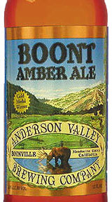 Anderson Valley Brewing Boont Amber Ale