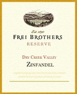Frei Brothers Reserve Zinfandel 2008