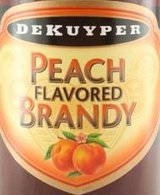 DeKuyper Peach Flavored Brandy