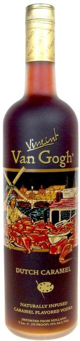 Vincent Van Gogh Dutch Caramel Vodka