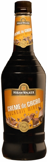 Hiram Walker Creme de Cacao Brown 0
