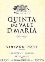 Quinta do Vale D. Maria Vintage Port 2007