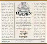 Oban Western Highlands Single Malt Scotch Whisky 14 year old