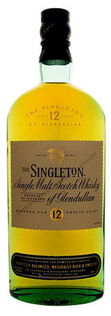 Singleton Single Malt Scotch Whisky of Glendullan 12 year old